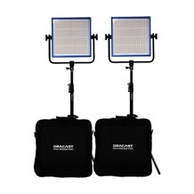 Dracast LED1000 Pro DayLight 2-Light Kit
