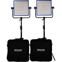 Dracast LED1000 Pro Bi-Color 2-Light Kit - Gold Mount Battery