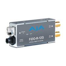 AJA 1-Channel Single-Mode LC Fiber to 12G-SDI Receiver