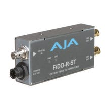 AJA FiDO Single-Channel ST Fiber to 3G-SDI Mini Converter