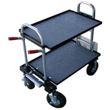 Filmtools Patron Jr. 4x10 Equipment Cart with Shelves and Foam Tires
