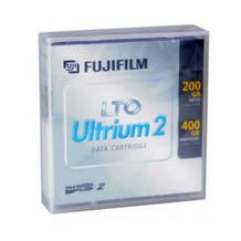 Fuji LTO 2 Ultrium Barium Ferrite Data Cartridge