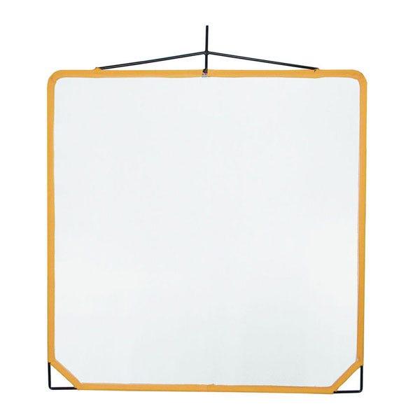 "Matthews Studio Equipment 48 x 48"" Solid Frame Scrim - White Artificial Silk"