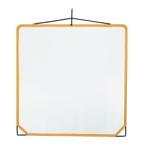 "Matthews Studio Equipment 48 x 48"" Solid Frame Scrim - White Artificial Silk"