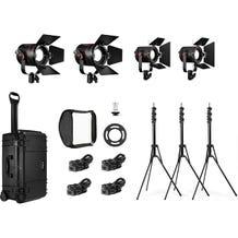 Fiilex K412 2-P360EX and 2-P180E 4-Light LED Travel Kit