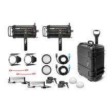 Fiilex Two Light Q1000-DC Fresnel Travel Kit