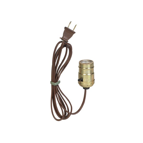 Filmtools Chinaball Lampholder Socket Assembly - Brown