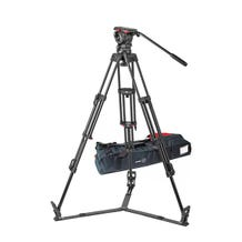Sachtler 1046 Tripod System with FSB 10 T Head, ENG 2 D Tripod, Ground Spreader SP 100, and Padded Bag ENG 2