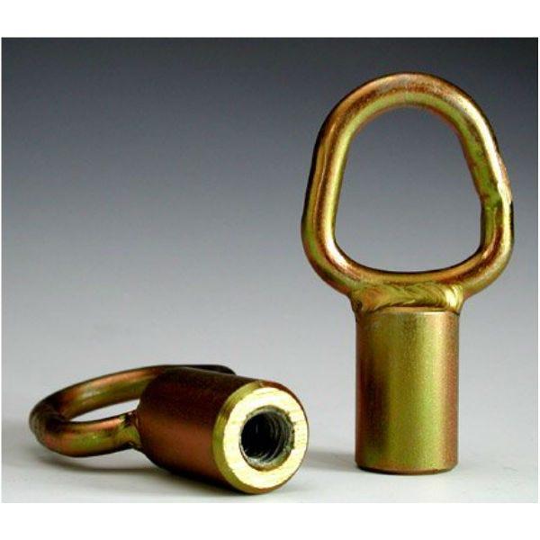 Modern D-Ring w/3/8-16 Female Threaded Socket
