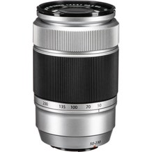 FUJIFILM Fujinon XC 50-230mm f/4.5-6.7 OIS II Aspherical Lens - Silver