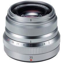 FUJIFILM Fujinon XF 35mm f/2 R WR Aspherical Lens - Silver