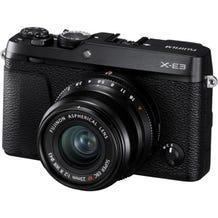 FUJIFILM X-E3 Mirrorless Digital Camera with 23mm f/2 Lens - Black