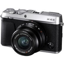 FUJIFILM X-E3 Mirrorless Digital Camera with 23mm f/2 Lens - Silver