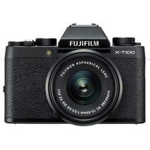 FUJIFILM X-T100 Mirrorless Digital Camera with 15-45mm Lens - Black