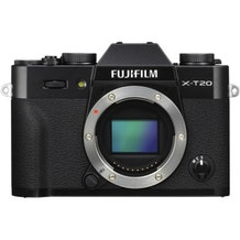 FUJIFILM X-T20 Mirrorless Digital Camera - Black