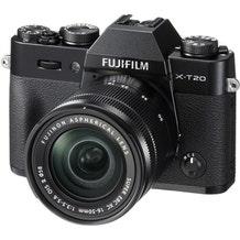 FUJIFILM X-T20 Mirrorless Digital Camera with 16-50mm Lens - Black