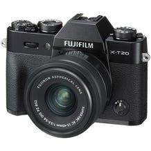 FUJIFILM X-T20 Mirrorless Digital Camera with XC 15-45mm Lens - Black fuji xt20