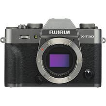 FUJIFILM X-T30 Mirrorless Digital Camera - Charcoal Silver