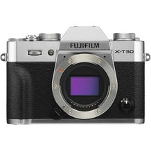 FUJIFILM X-T30 Mirrorless Digital Camera - Silver