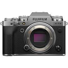 Fujifilm X-T4 Mirrorless Digital Camera - Silver