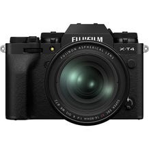Fujifilm X-T4 Mirrorless Digital Camera with Fujinon Aspherical 16-80mm Lens - Black