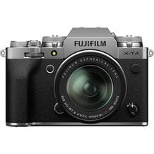 Fujifilm X-T4 Mirrorless Digital Camera with Fujinon Aspherical 18-55mm Lens - Silver