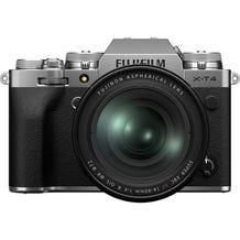 FUJIFILM X-T4 Mirrorless Digital Camera with 16-80mm Lens - Silver