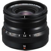 FUJIFILM XF 16mm f/2.8 R WR Lens - Black