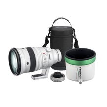FUJIFILM XF 200mm f/2 R LM OIS WR Lens with XF 1.4x TC F2 WR Teleconverter Kit