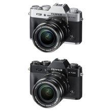 FUJIFILM X-T20 Mirrorless Digital Camera with 18-55mm Lens - Black Or Silver