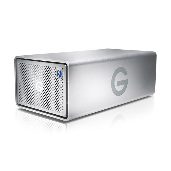 G-Technology 8TB G-RAID 2-Bay Thunderbolt 3 RAID Array Drive