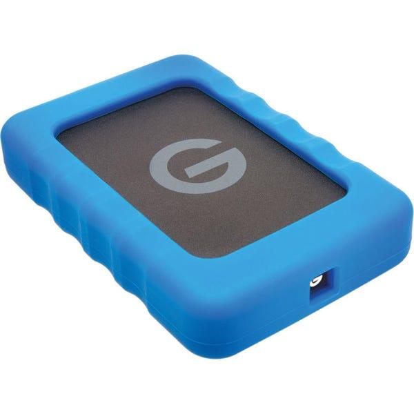 G-Technology 1TB G-DRIVE ev RaW USB 3.0 Hard Drive with Rugged Bumper
