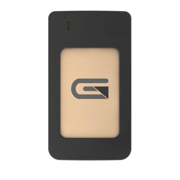 Glyph 1TB Atom RAID USB 3.1 Type-C Portable SSD - Gold