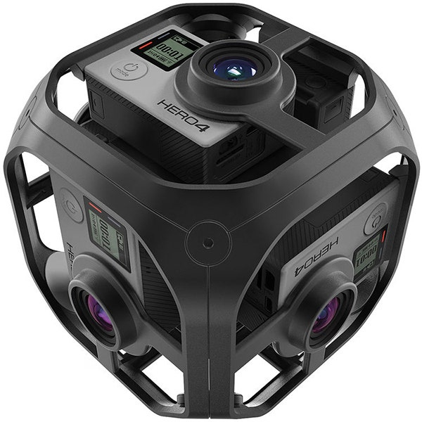 GoPro Omni Spherical 360° VR Video Rig‎ - Rig Only