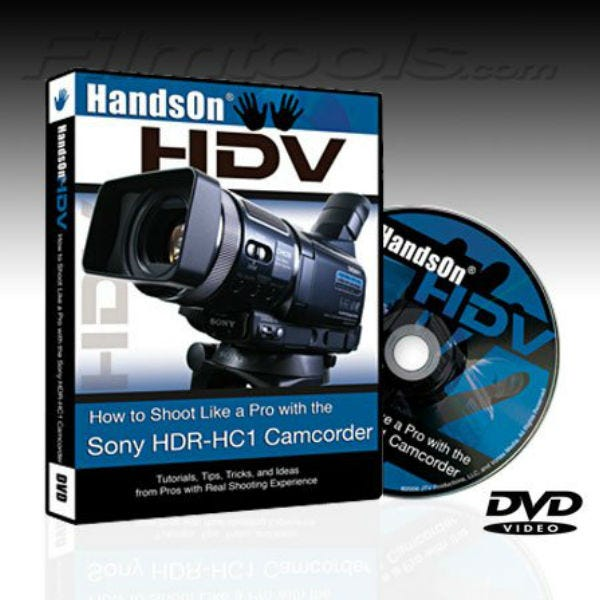 "Vortex Media HC1DVD ""Hands On HDV"" How to Shoot with the Sony HC1, 120 Minute Instructional DVD for the Sony HC1 Camcorder"