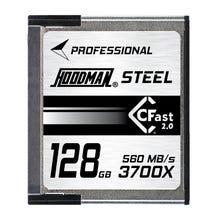 Hoodman 128GB CFAST 2.0 U3 4K 455Mb/S Memory Card