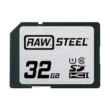 HoodMan RAWSDHC32GBU1 STEEL UHS-1 SDHC Memory Card 32GB
