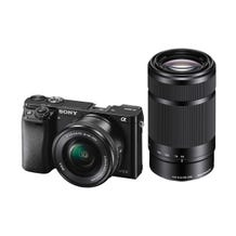 Sony Alpha a6000 Mirrorless Digital Camera with 16-50mm and 55-210mm Lenses (Black)
