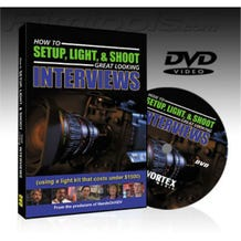 How to Setup, Light & Shoot Great Looking Interviews - Instructional DVD