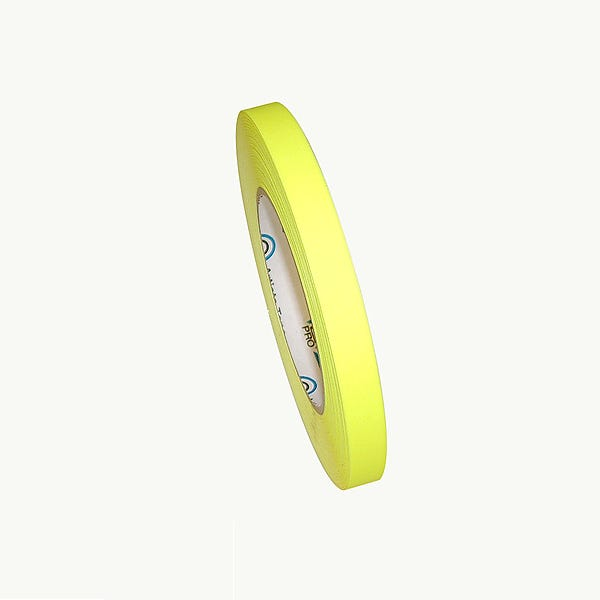 "ProTapes 1/2"" Paper Tape - Fluorescent Yellow"