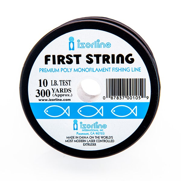 Izorline Monofilament Line 10lb Test Clear 300 vrd