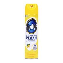 Pledge Furniture Polish Lemon Scent - 13.8 oz
