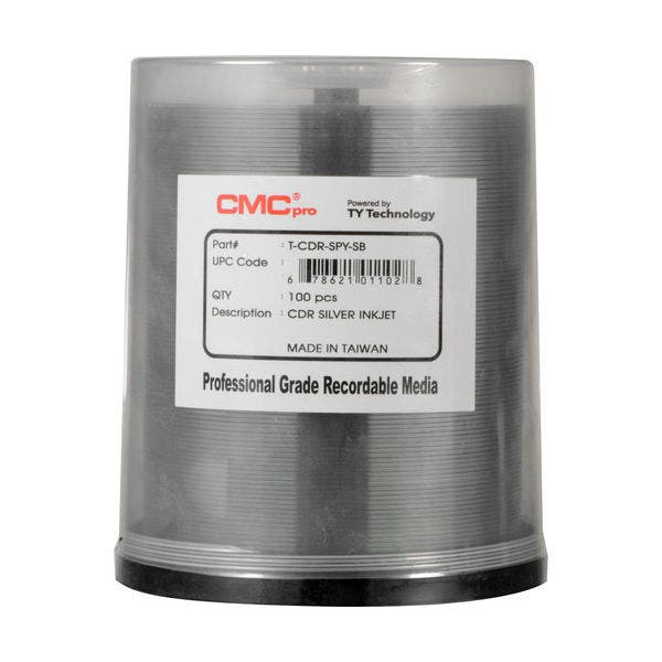JVC CD-R Silver Inkjet 52x 100