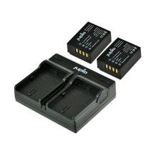 Jupio 2 NP-W126S Batteries & USB Dual Charger Kit - 1260mAh