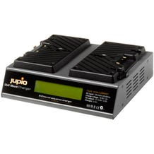Jupio Dual Gold Mount Battery Charger