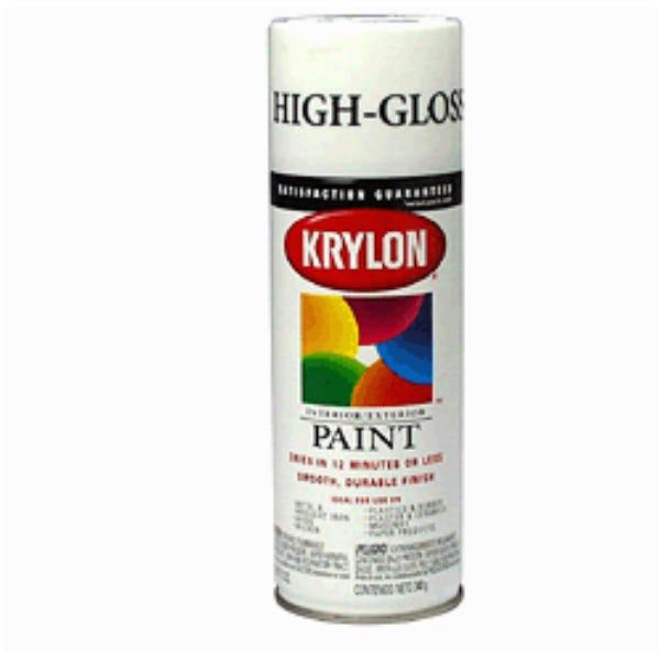 Krylon K01501 #1501 Gloss White Spray Paint, Mfr #: K01501
