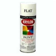Krylon K01502 #1502 Flat White Spray Paint Mfr #: K01502
