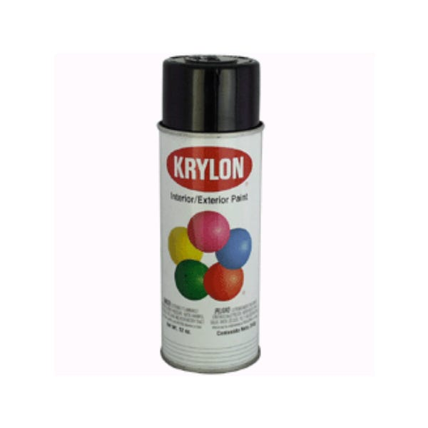 Krylon K01601 #1601 Glossy Black Spray Paint Mfr #: K01601
