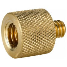 "Kupo 3/8""-16 Female to 1/4""-20 Male Brass Adapter"