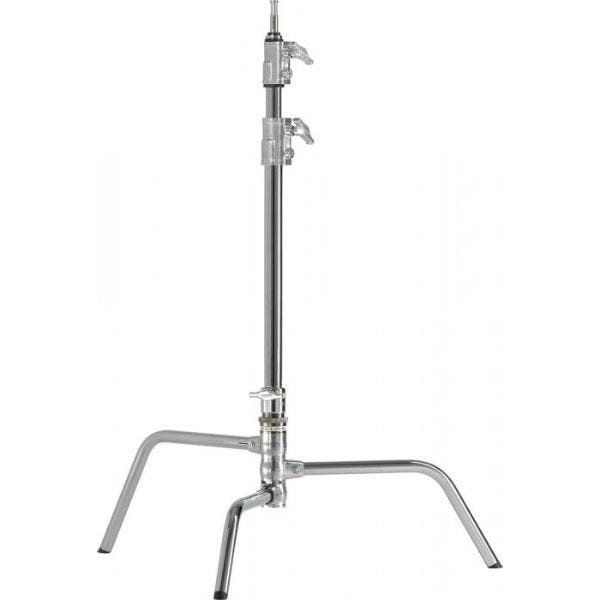 "Kupo 20"" Chrome Master C-Stand with Turtle Base"